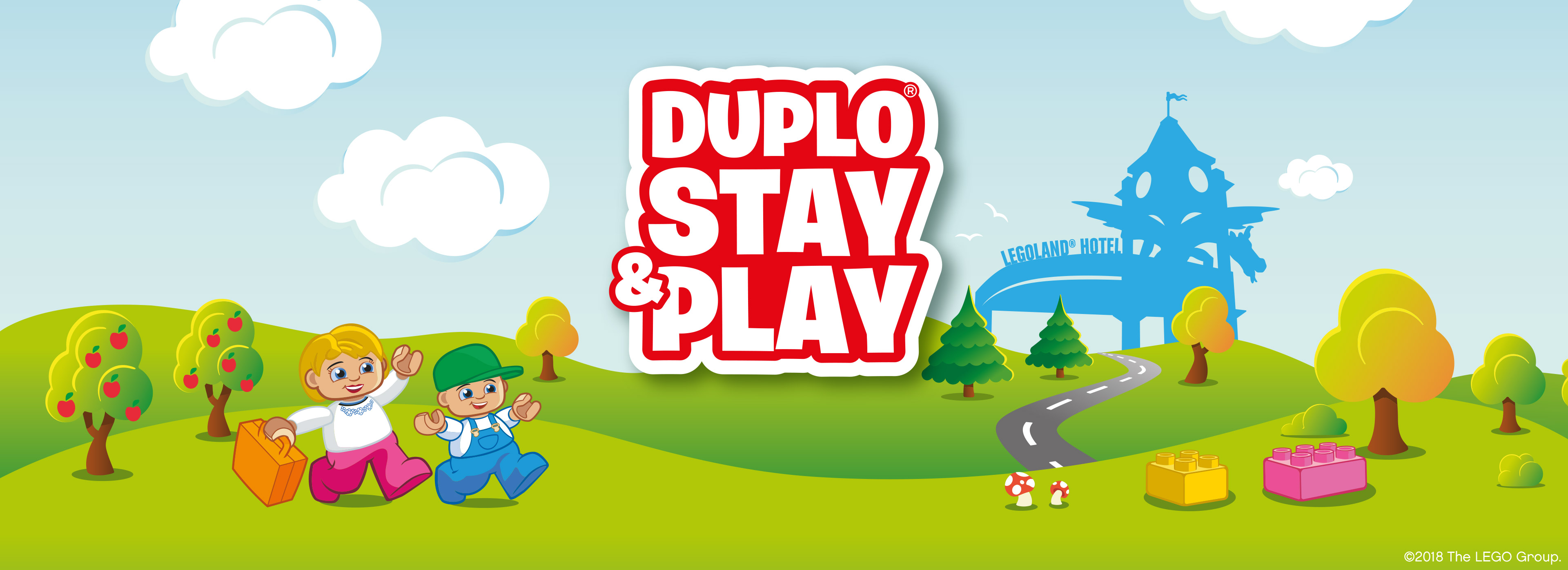 DUPLO® Stay and Play at LEGOLAND® Windsor Resort