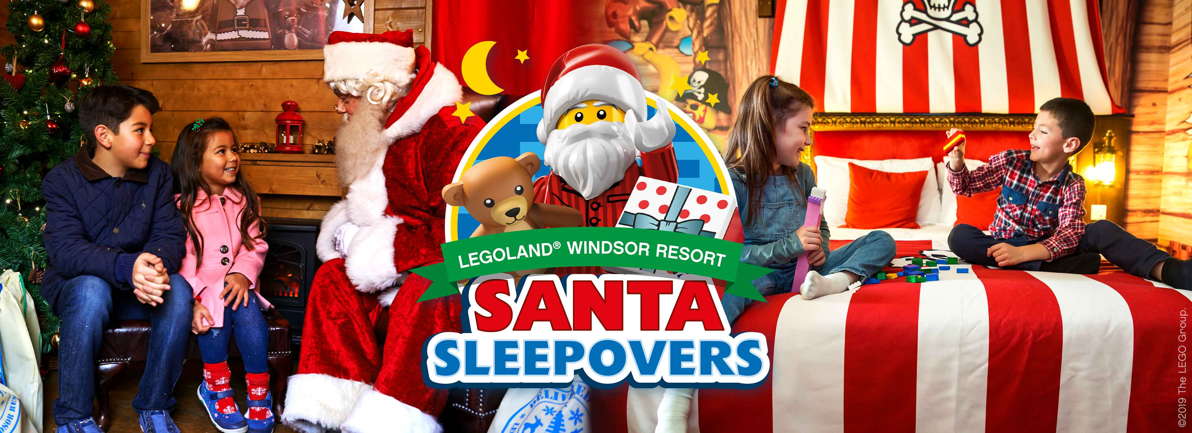 Santa Sleepover 2019 at LEGOLAND Windsor Resort