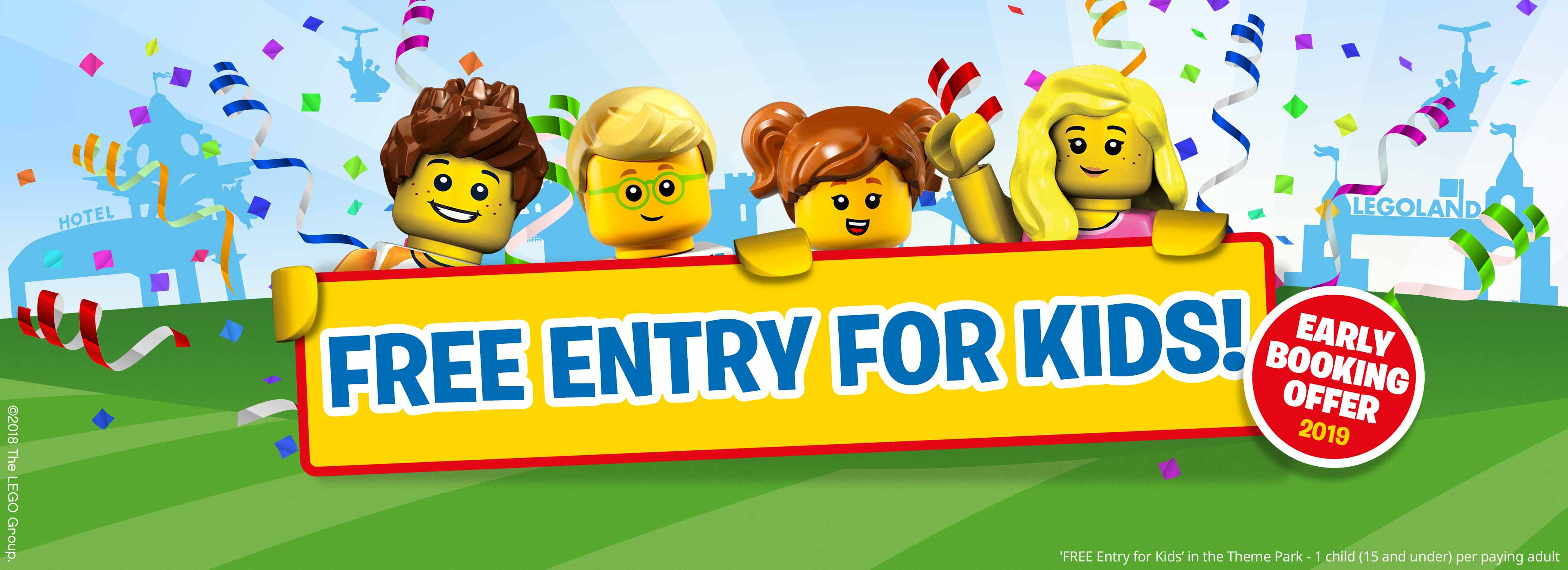 Kids Play FREE in 2019 with LEGOLAND HOLIDAYS
