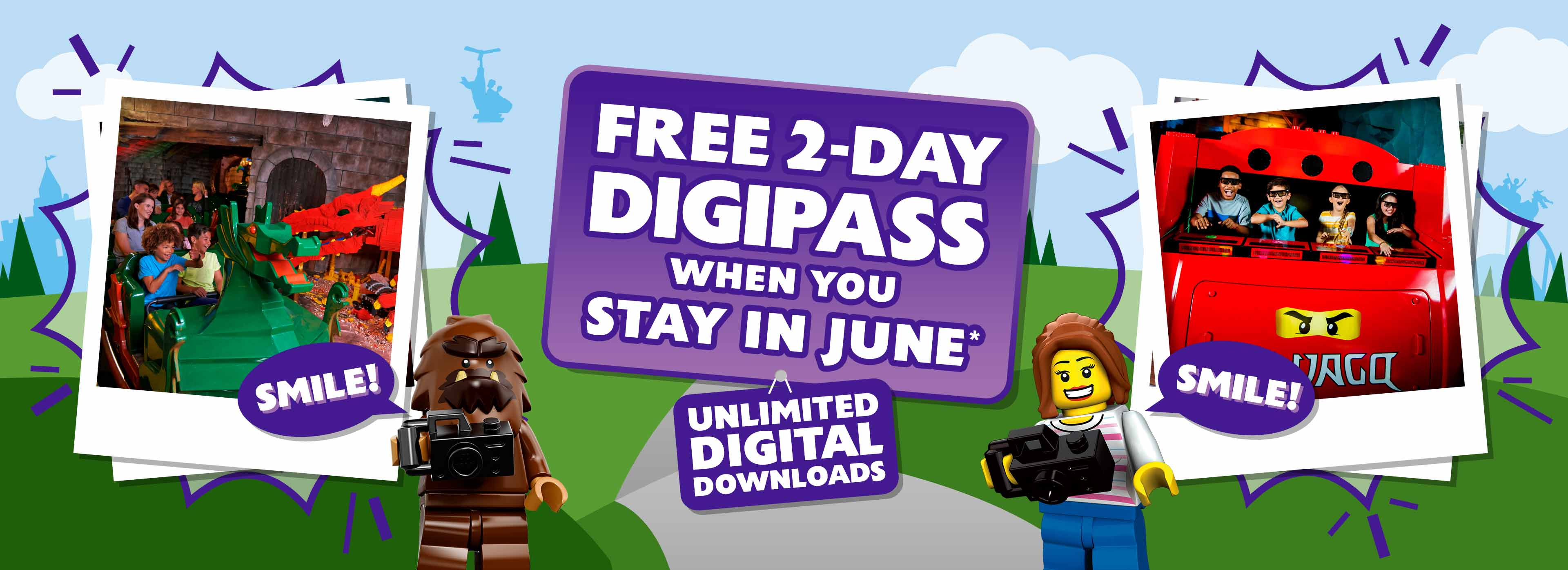 FREE 2–Day Family Digipass