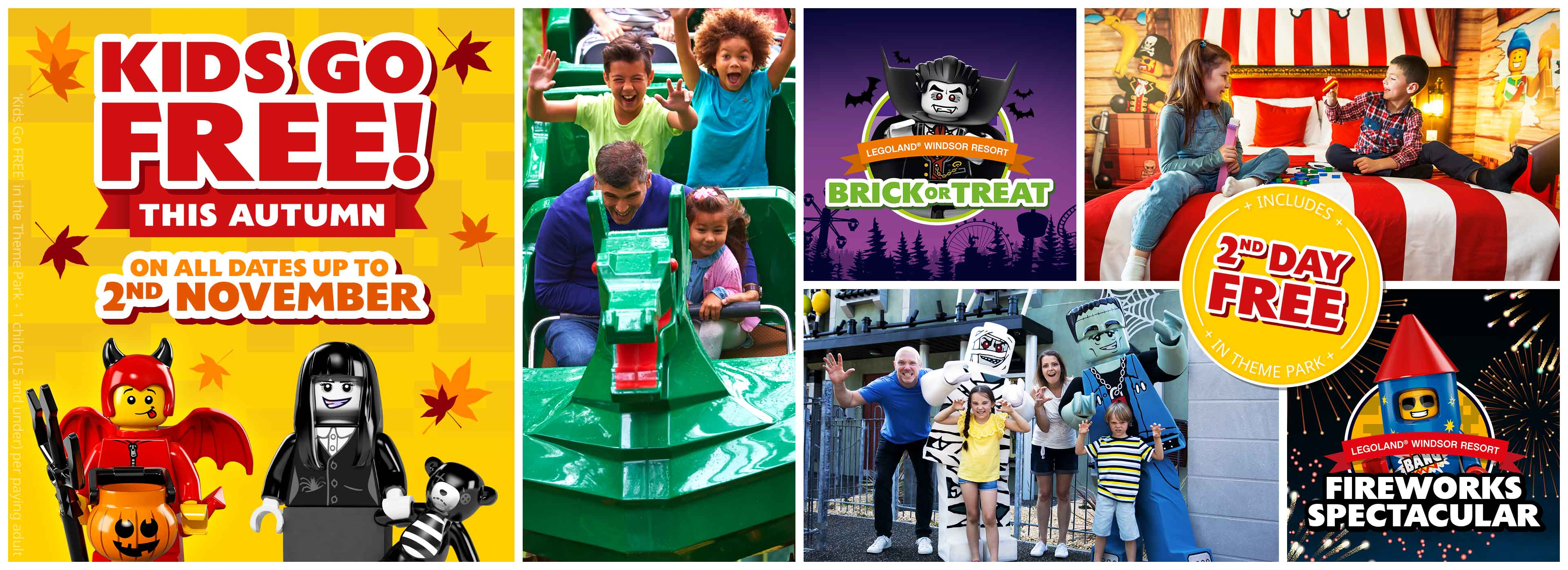 Midweek Breaks with LEGOLAND Holidays