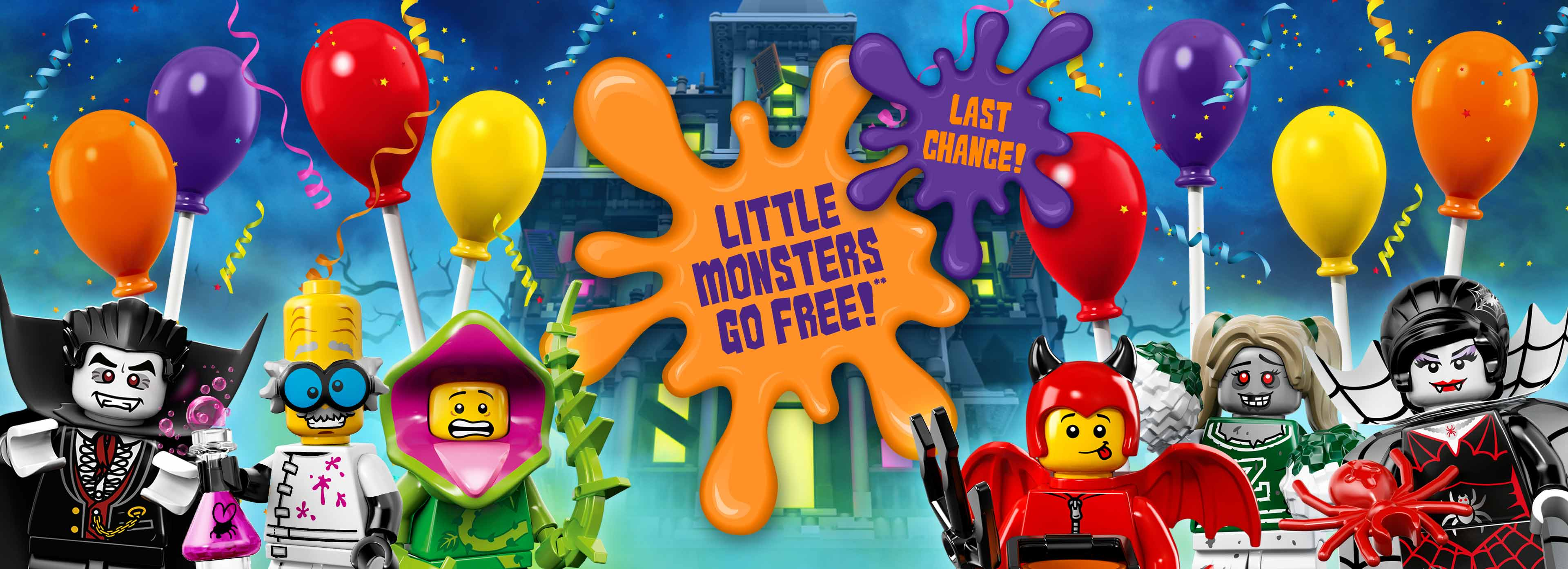 Little Monsters Go FREE with LEGOLAND® Holidays
