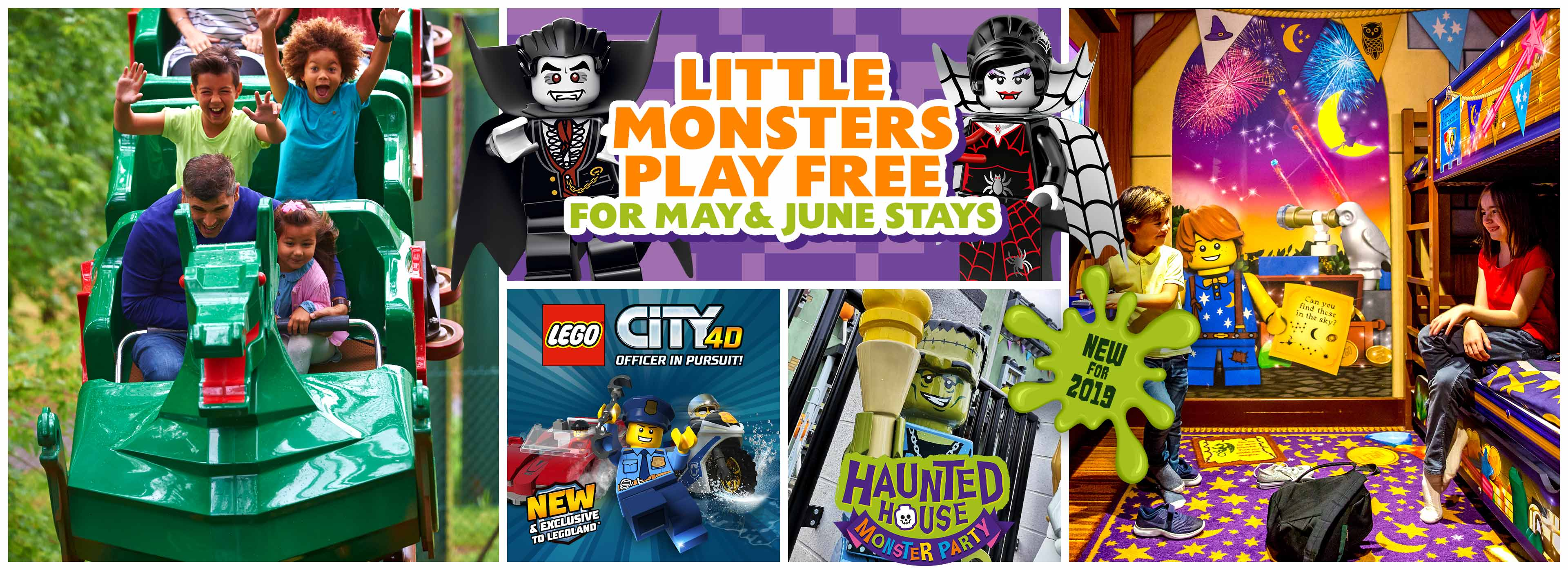 little Monsters Play Free at LEGOLAND Windsor Resort