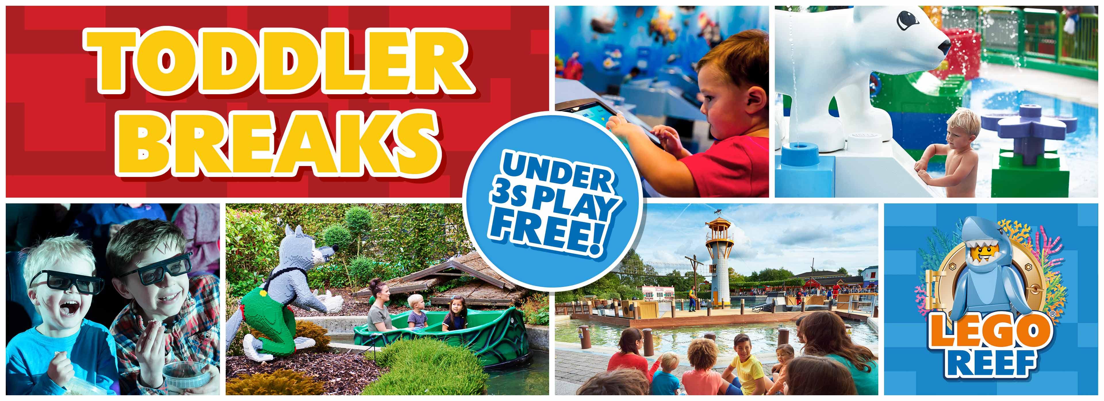 Under 3s Play FREE| LEGOLAND Holidays