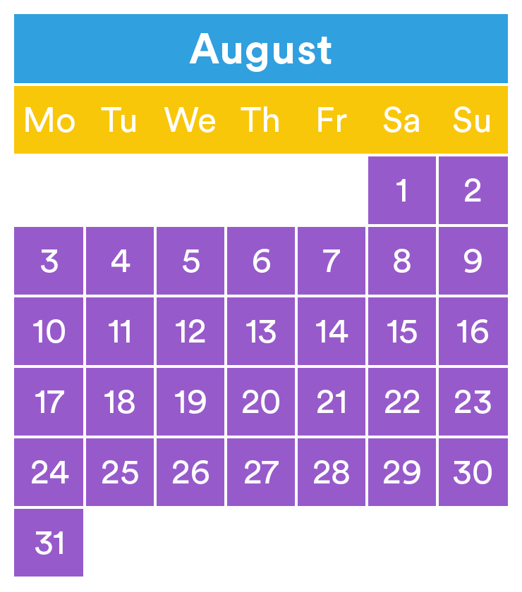 LEGOLAND opening times August 2020