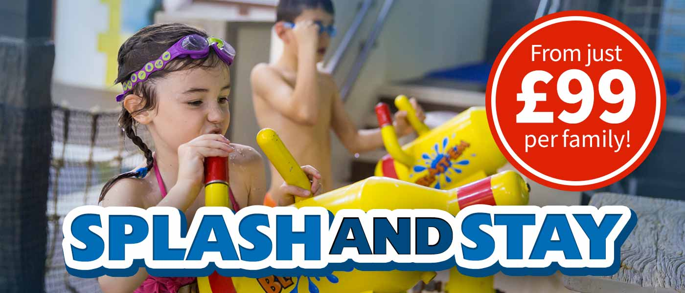 Splash and Stay at LEGOLAND Windsor resort
