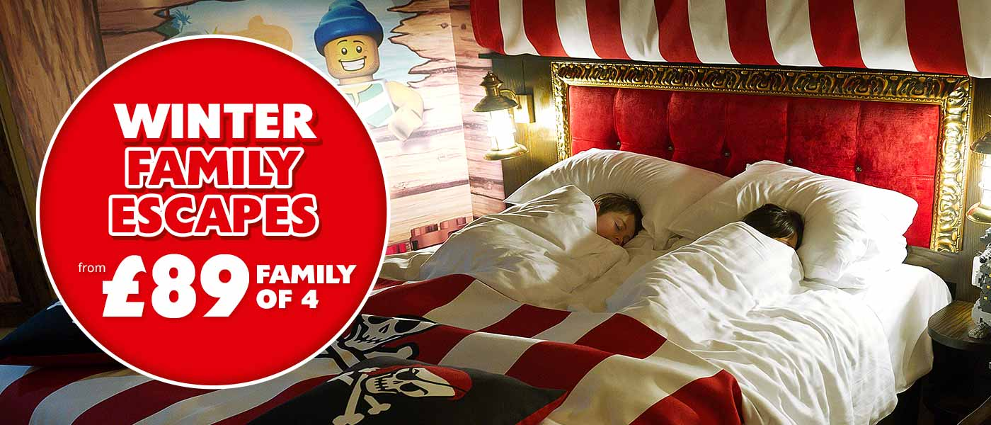 Winter Family Escapes at legoland in 2018