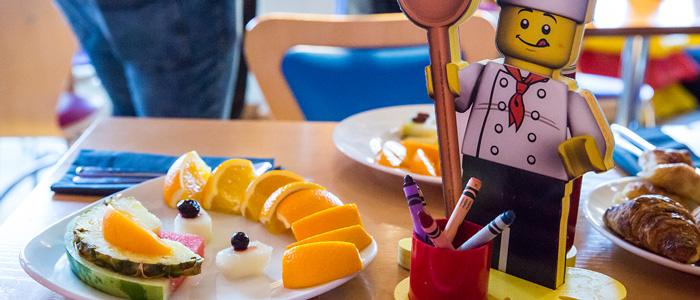 Breakfast with LEGO chef