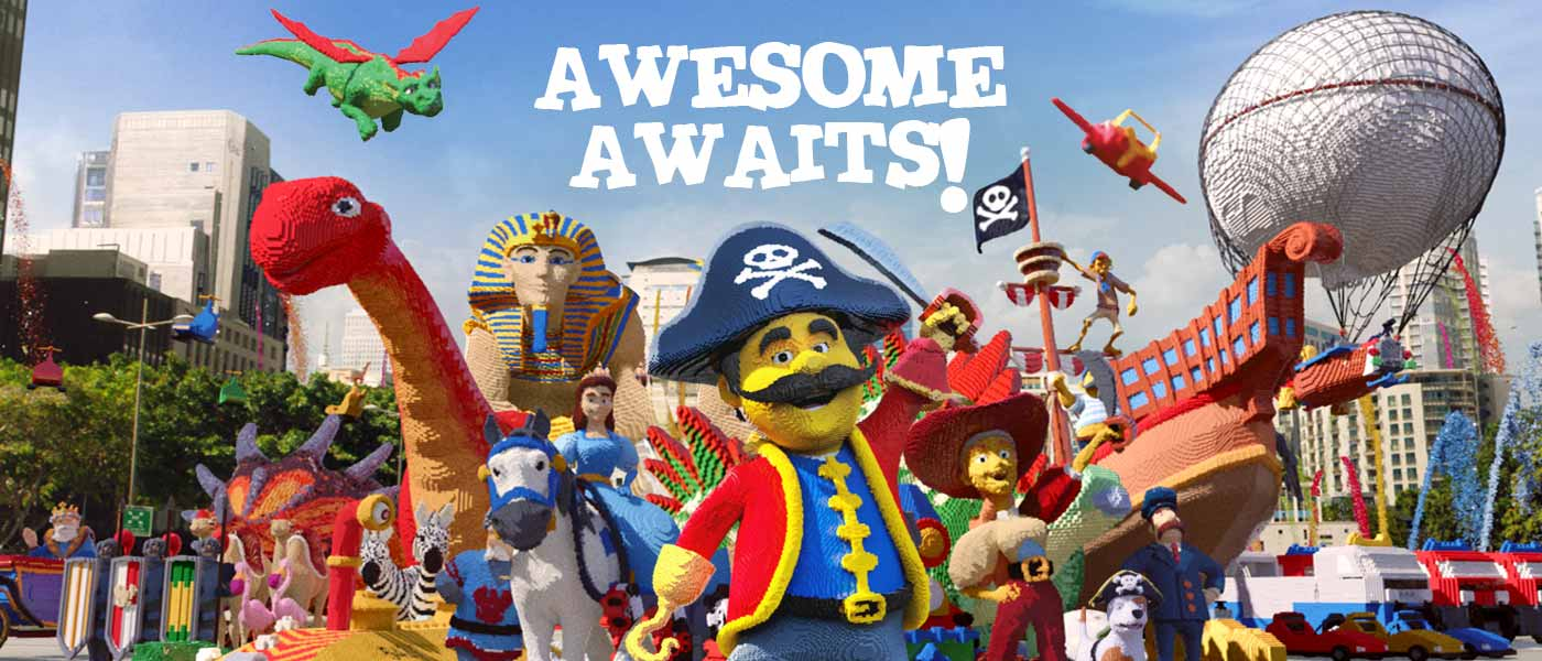 Awesome awaits with LEGOLAND Holidays