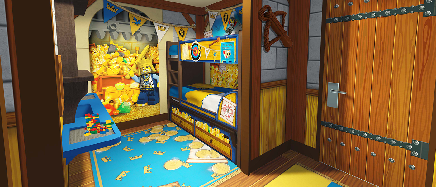 Book Your Stay At The Legoland Castle Hotel