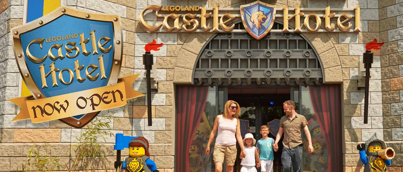 NEW! LEGOLAND<sup>&reg;</sup> Castle Hotel
