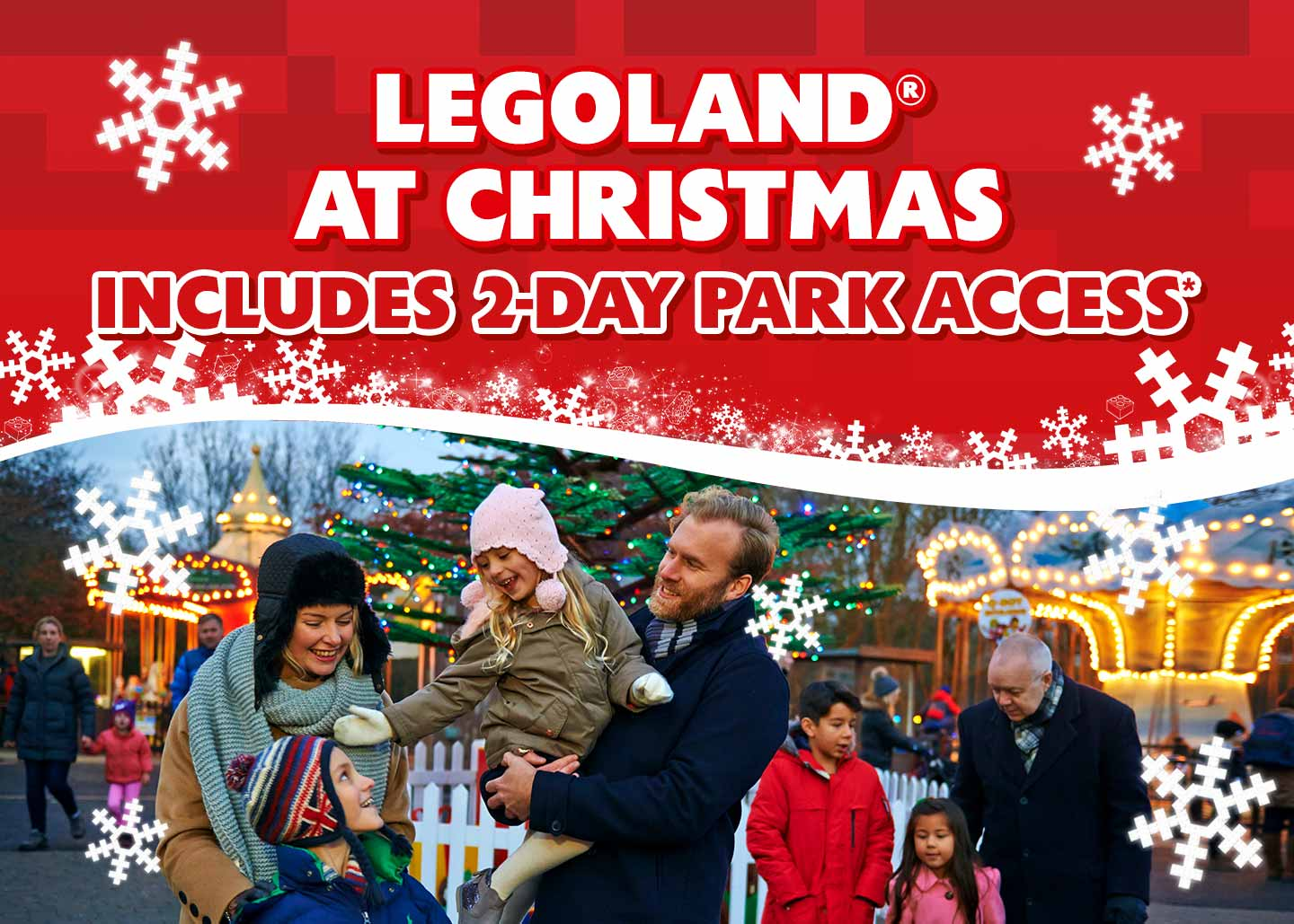 Treat the family to a festive LEGOLAND® Windsor holiday!