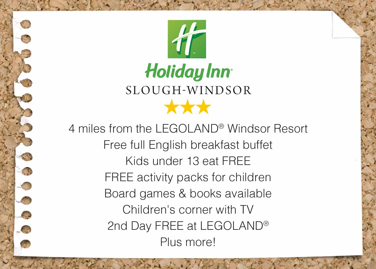 Book your LEGOLAND Holiday today!