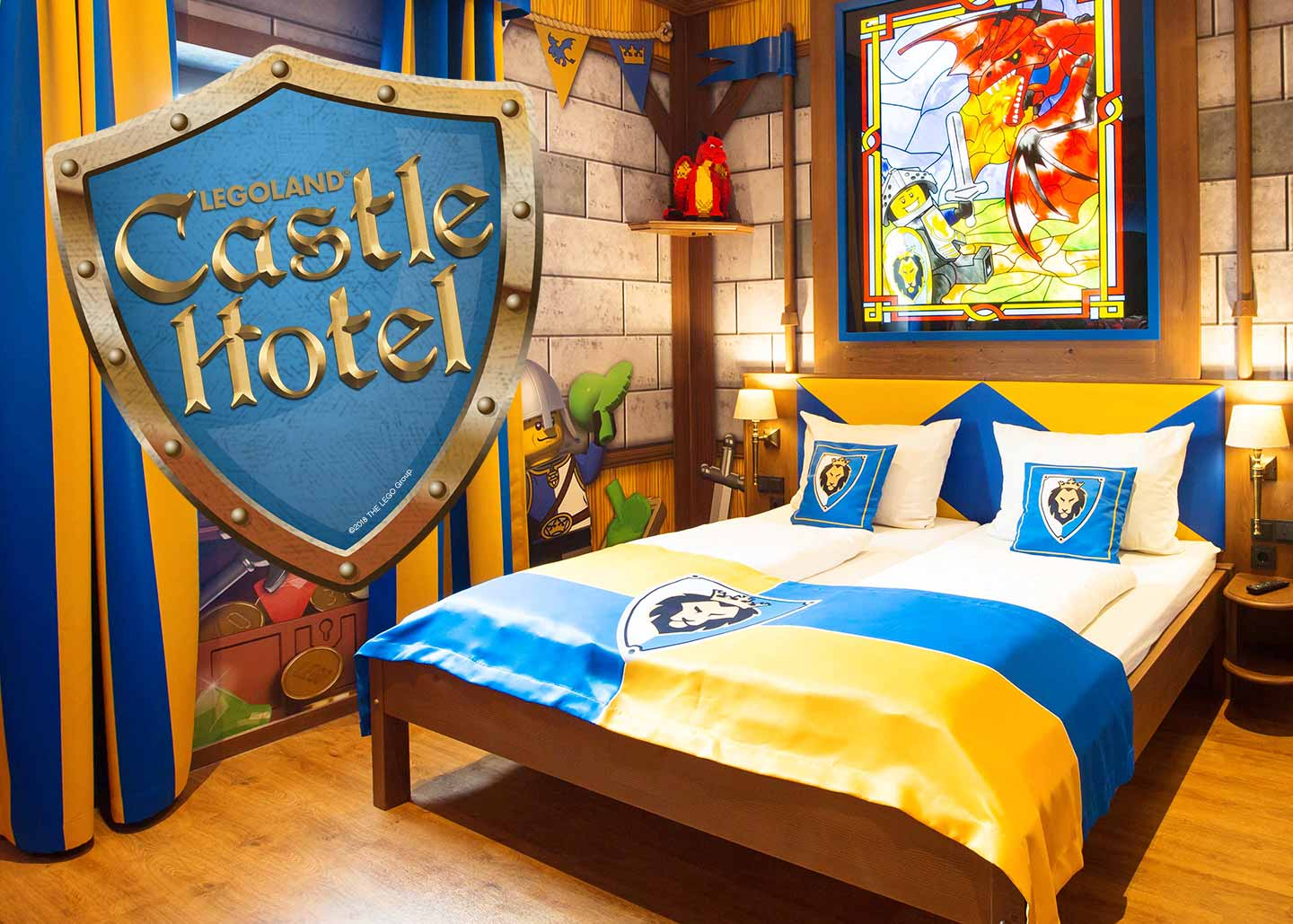The new LEGOLAND Castle Hotel