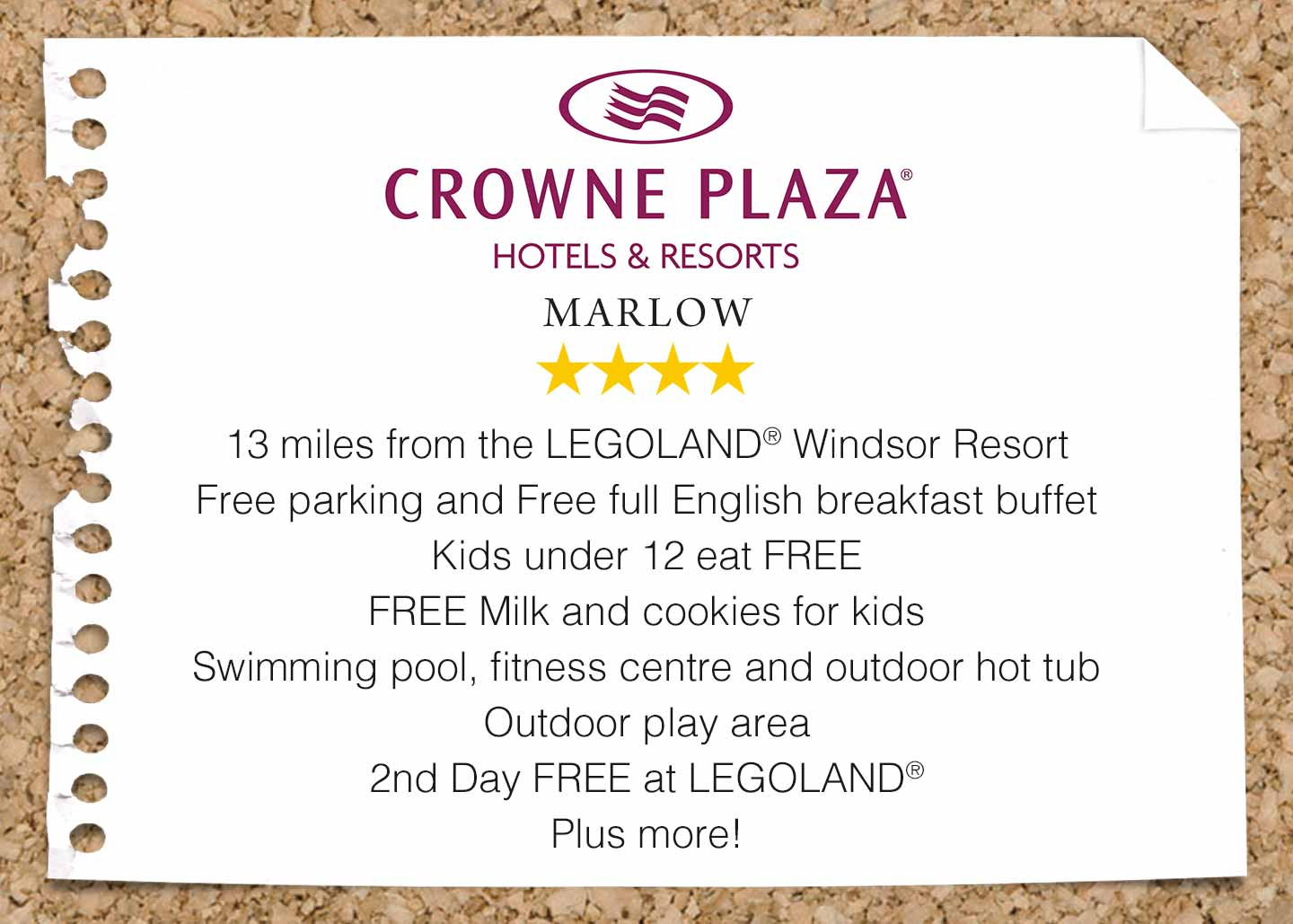 Crowne Plaza Marlow near LEGOLAND Windsor Resort