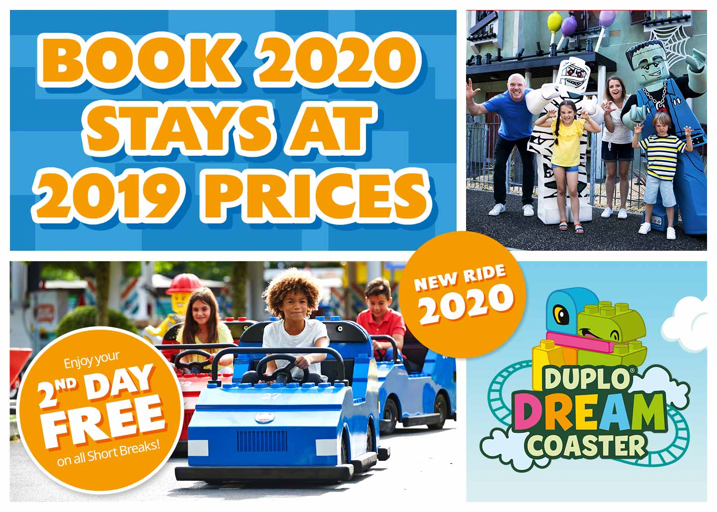 2020 at 2019 prices LEGOLAND<sup>®</sup> Holidays