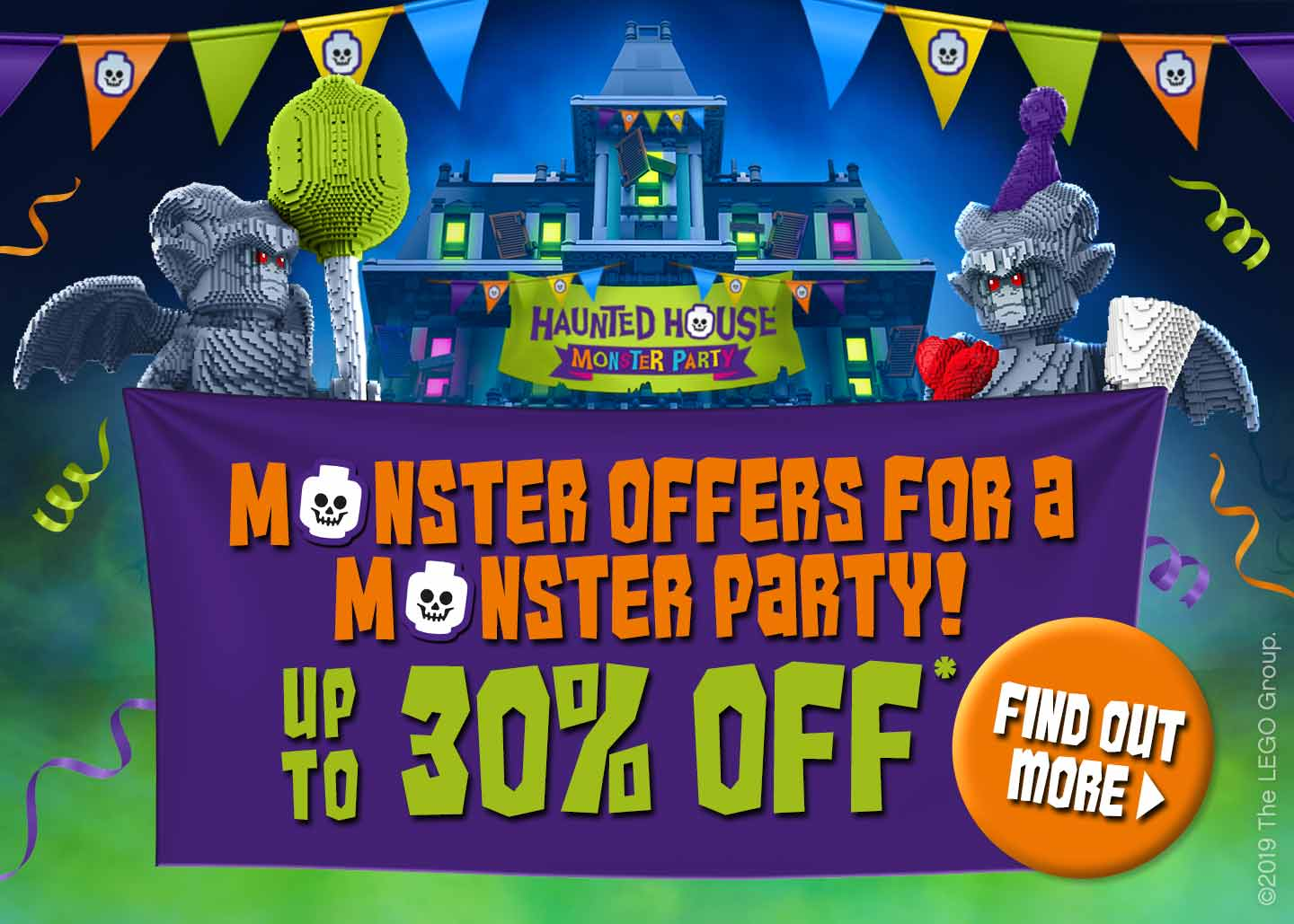 Monster offer at the LEGOLAND Windsor Resort