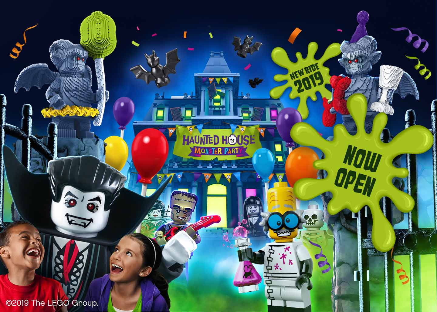 New Haunted House Monster Party at LEGOLAND Windsor Resort