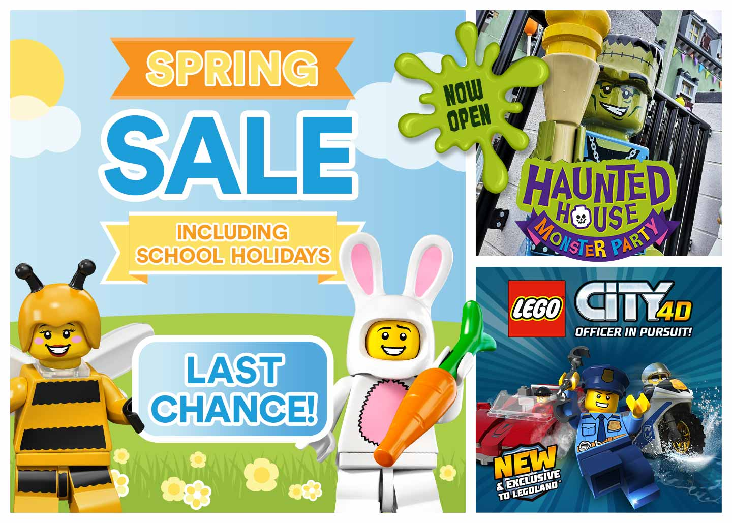 Last chance to save in the Spring Sale with LEGOLAND® Holidays