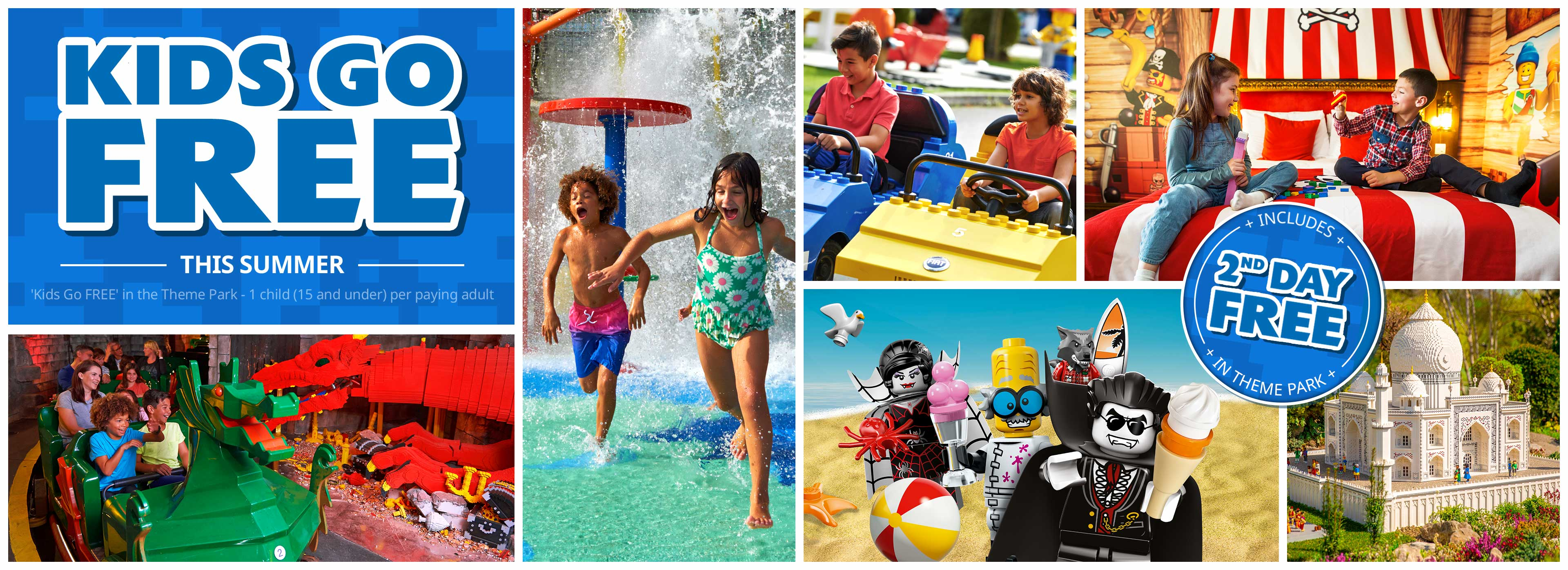 Kids Go FREE with LEGOLAND Holidays