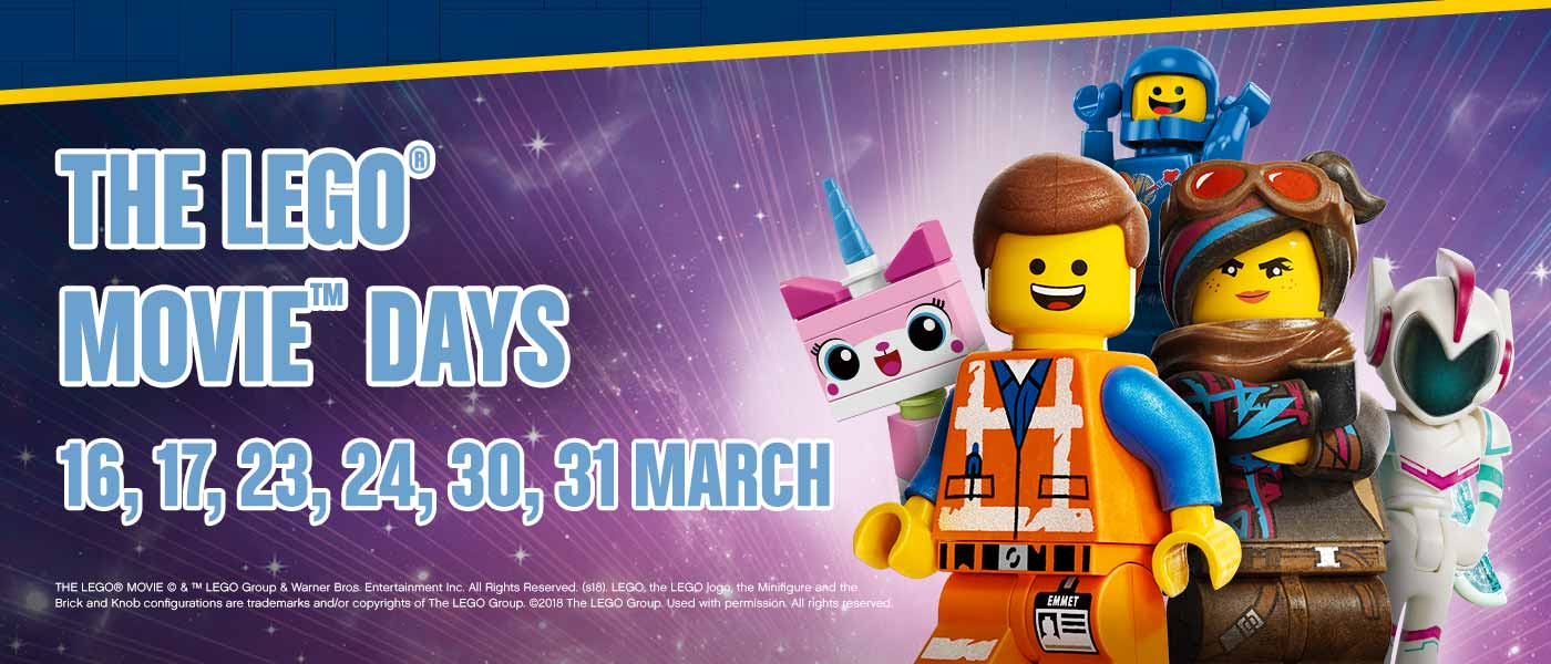 LEGO Movie Days at LEGOLAND Windsor Resort