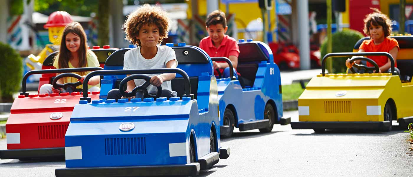 Toddler rides at LEGOLAND Holidays