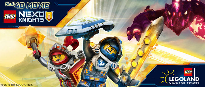 LEGO<sup>&reg;</sup> NEXO KNIGHTS&trade;: THE BOOK OF CREATIVITY