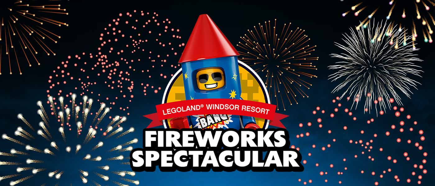 Spectacular Fireworks Display at LEGOLAND Windsor Resort!