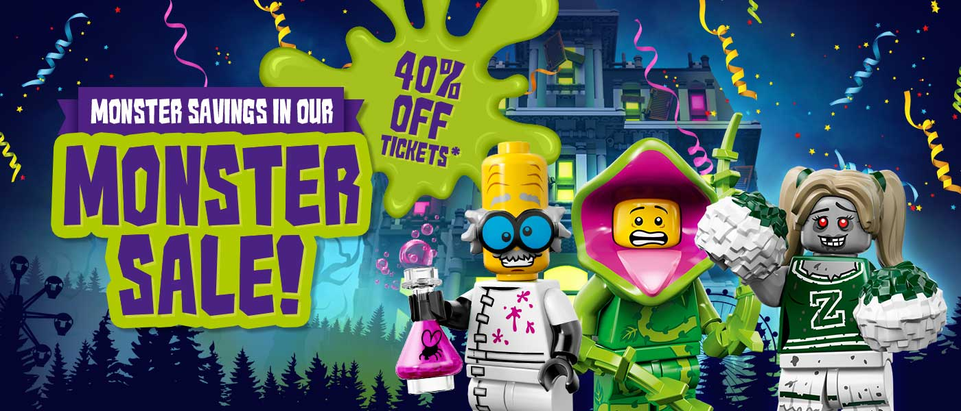 40% off your Theme Park entry with LEGOLAND Holidays