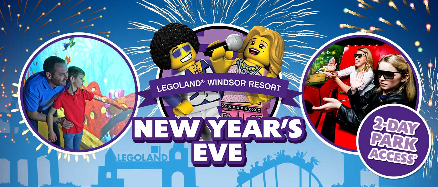 New Year's Eve at LEGOLAND Windsor Resort